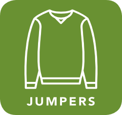 icon of jumper which is acceptable for recycling